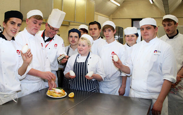 Shrove Tuesday at City College, Norwich